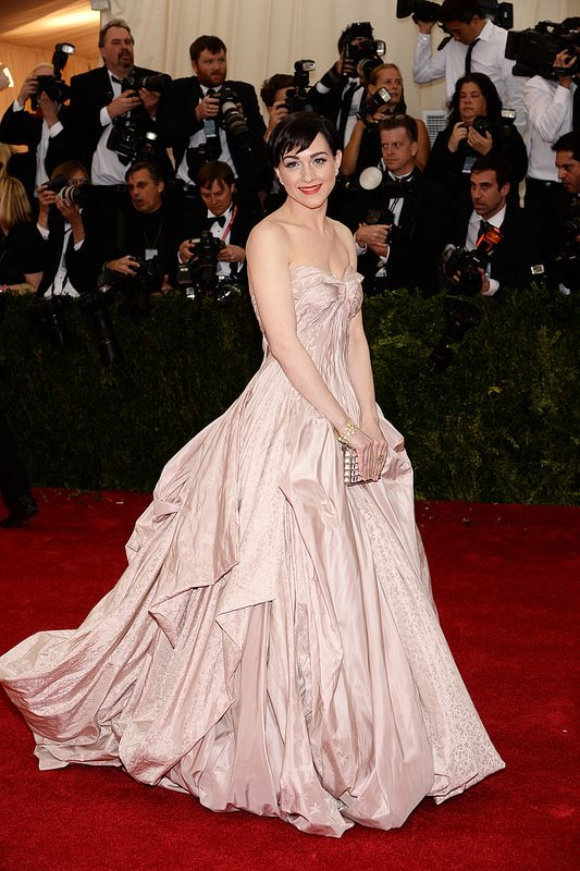 Lena Hall at the 2014 Met Gala