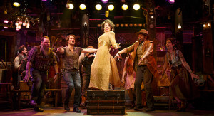 Leslie Kritzer and company in The Robber Bridegroom Photo by Joan Marcus